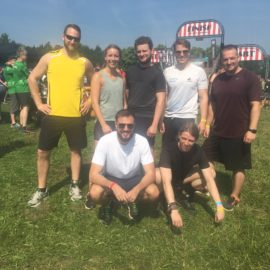 Patagona auf dem Strong Viking Run in Wächtersbach