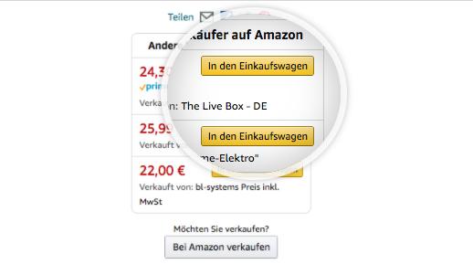 Die Amazon Buy Box: Repricing für gute Platzierung