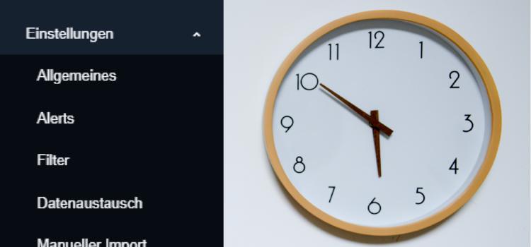 Feature Update: Monitoring Zeitpläne flexibel einstellen